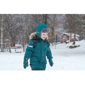 Didriksons 1913 Björnen Coverall Kids Glacier blue